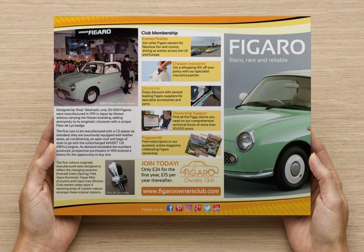 Promotional Leaflet Promotional Leaflet Figaro Owners Club