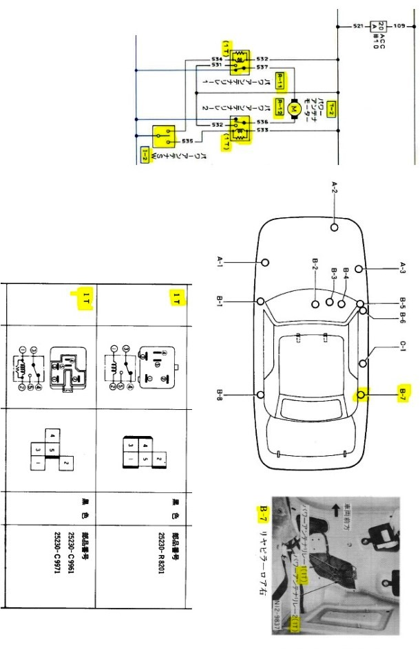 Aerial Diagram