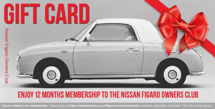 Gift Card Gift Card Figaro Owners Club
