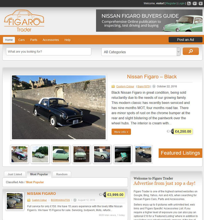 Buy/Sell your Figaro - Buy/Sell your Figaro - Figaro Owners Club