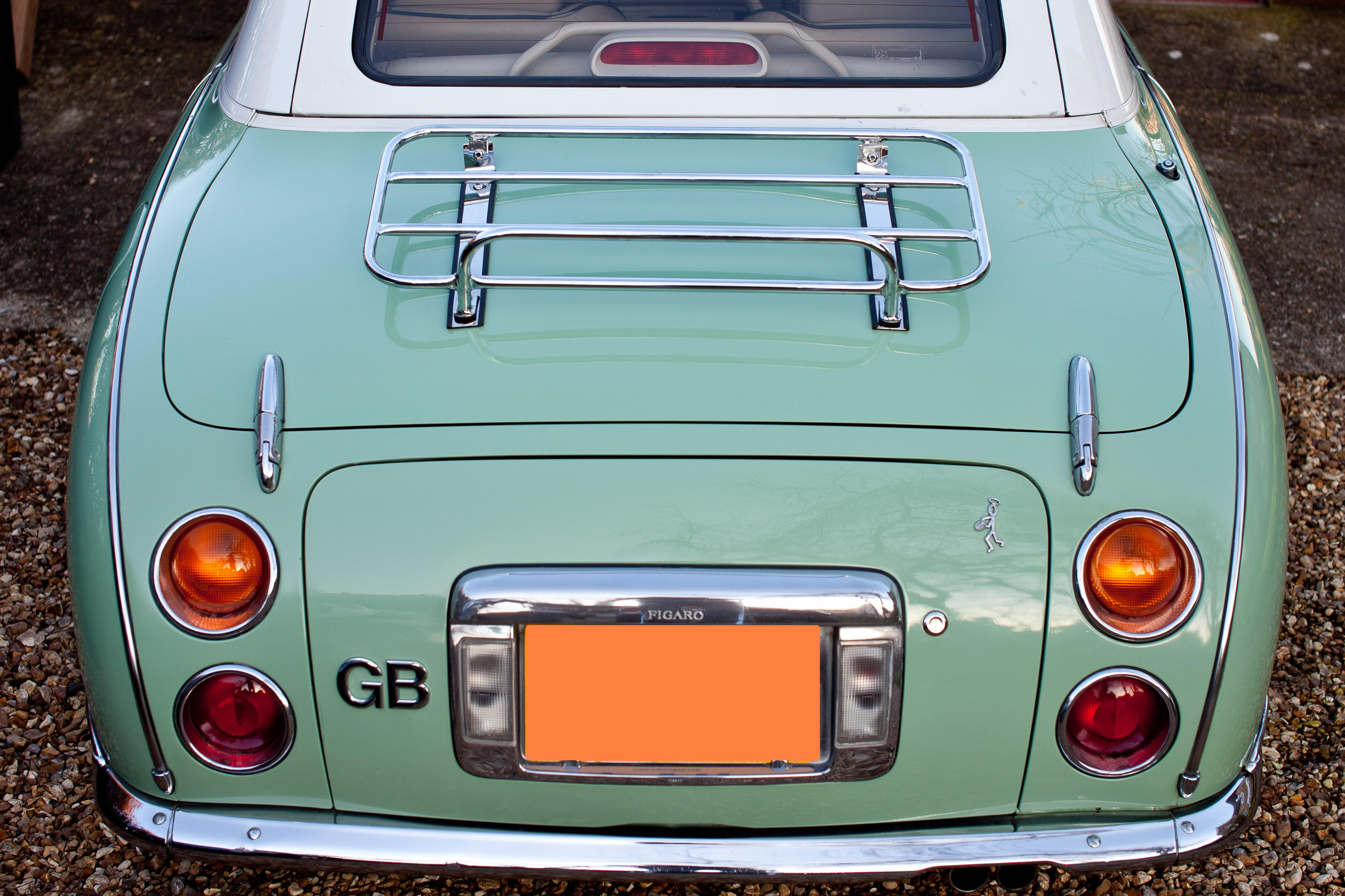 boot luggage rack fixed boot luggage rack fixed figaro rh figaroownersclub com Nissan Frontier Fuse Box Nissan Fuse Box Diagram
